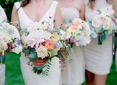Rustic Chic Wedding Filled With Pretty Pastel Florals | Laura Murray Photography | CHECK OUT MORE IDEAS AT WEDDINGPINS.NET | #weddings #weddingflowers #weddingbouquets #bouquets