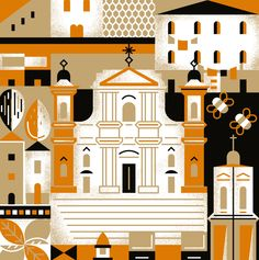 Sabadì – I Torroni illustration by Happycentro.