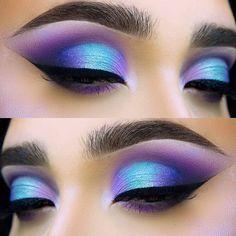 purple eye makeup step by step, stunning matte eyeshadow looks . - purple eye makeup step by step, stunning matte eye shadow looks ideas, matte eyes … – - Purple Eyeshadow Looks, Purple Eye Makeup, Makeup Eye Looks, Eye Makeup Steps, Colorful Eye Makeup, Eye Makeup Art, Green Eyeshadow, Matte Eyeshadow, Eyeshadow Makeup