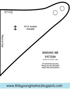 Bandana Bib Pattern  | followpics.co