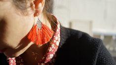 Boucles d'oreilles #55 - Alix B. D'Anthenay