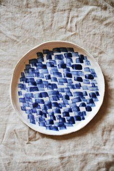 Lauren Bamford Lipped Plate 01 from Mr Kitly via The Third Row