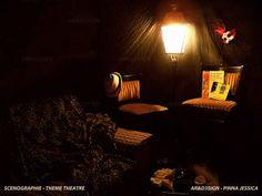 Scénographie - Jessica Pinna - Mise en scène thème théâtre