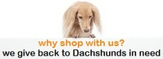 PetMyWiener.com is THE place for fun and unique Dachshund merchandise. They have  the ultimate Dachshund selection for Doxie Lovers.  PetMyWiener.com is proud to donate 5% of all sales to Dachshund Rescues and other organizations helping underprivileged Dachshunds in need nationwide.