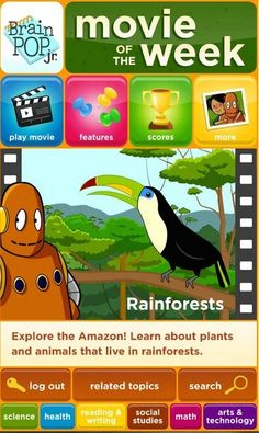 Best Android apps for kids: Brainpop Jr. Movie of the Week app
