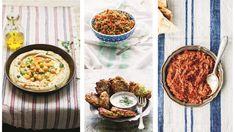 Et godt utvalg av forskjellige smaker, farger og konsistenser med godt brød til er en ypperlig start på ethvert festmåltid.