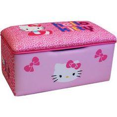 Hello Kitty Bows Small Toy Box - Walmart.com 0e2b7c5260594