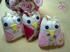 ✽ Sanna Handmade ✽ sacos de alfazema #owl
