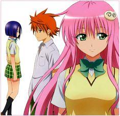To LOVE-Ru, Yuuki Rito, Sairenji Haruna, Lala Satalin Deviluke