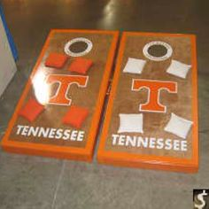 Corn hole success. Hubby would love these!