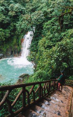Rio Celeste Waterfall - Costa Rica