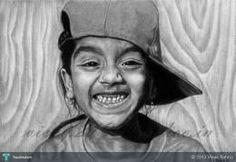 A Happy Friend #Creative #Art #Sketching @touchtalent.com