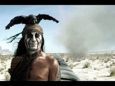 """The Lone Ranger """"End of the Line"""" Clip - video dailymotion Johnny Depp Characters, Johnny Depp Movies, Johnny Depp Wallpaper, Tom Wilkinson, Johnny Depp Pictures, Live Action Movie, Action Movies, Native American Tribes, Native Americans"""