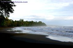 Cahuita Sunrise - Black Sand Beach In Costa Rica