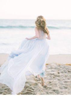 Ocean Bride - bezaubernde Strandbraut Inspirationen