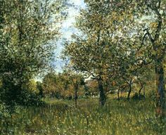 Alfred Sisley 1881 The Small Meadow