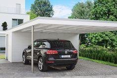 Design Carport mit Edelstahl © Solarterrassen & Carportwerk GmbH