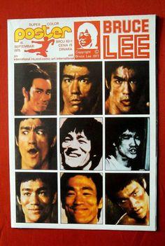 Bruce Lee Vintage Poster