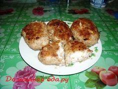 Гречаники с сыром и яйцом