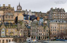 Old Town Edinburgh Scotland | old town edinburgh | All things Scottish | Pinterest