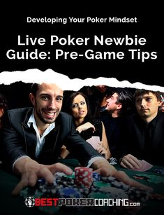 Going to the casino to play live poker for the first time can be intimidating, even for seasoned online players. This series will offer some tips and hopefully serve as a guide to make your introduction to live poker a smooth and enjoyable experience.