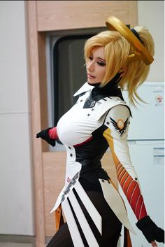 Mercy - Overwatch CN Tasha Cosplay