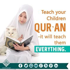 You could give your children all the 'things' in the Dunya but if you are not giving them the Deen, then you are not giving them anything at all. Alhamdulillah, Hadith, Religious Quotes, Islamic Quotes, Quotes For Kids, Family Quotes, Islamic Online University, Islam For Kids, Noble Quran
