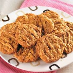 I love Peanut Butter cookies. Here is a recipe from the American Diabetes Association. I have not made these yet, but definitely going to.  Only thing I plan to change is in place of the sugar I will be using Splenda.  Will keep you posted on how they turn out.