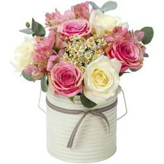Roses are the name of the game with this bouquet perfectly wrapped and presented ready to gift!