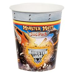 Monster Jam 3D 9 oz. Paper Cups