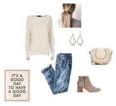 """""""It's a good day to have a good day."""" by randi202 ❤ liked on Polyvore featuring Chloé, J.Crew, Sole Society, Exclusive for Intermix and Alexis Bittar"""