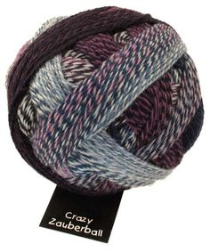 SchoppelWolle Crazy Zauberball Lilac Breeze *** More info could be found at the image url.