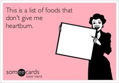 LOL! Can anyone else relate? What foods give you heartburn during pregnancy? #pregnancyheartburn #healthypregnancy #foodsforpregnancy
