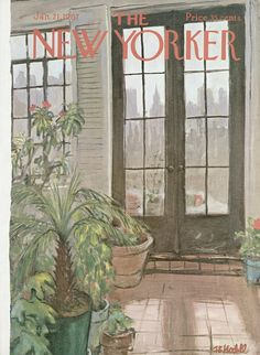 The New Yorker - Saturday, January 21, 1967 - Issue # 2188 - Vol. 42 - N° 48 - Cover by : Frank Modell