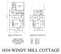 Windy Mill Cottage : The Cottage Group; flip the stairs and the closet - I hate walking in a house and seeing a staircase.