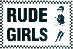 Rude ska girls ♥