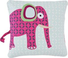 Jetzt wird's wild im #Kinderzimmer! Das kuscheligen Kissen mit Elefanten-Druck von Lässig ist einfach herzallerliebst!