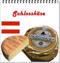 QUEIJO: Schlosskäse   ÁUSTRIA: Norte do pais LEITE:Vaca CLASSIFICAÇÃO: Semiduro