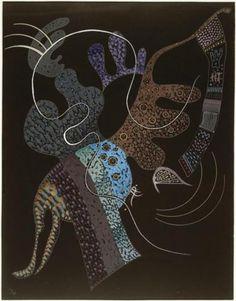 White line -  Wassily Kandinsky  Art Experience NYC: www.artexperiencenyc.com