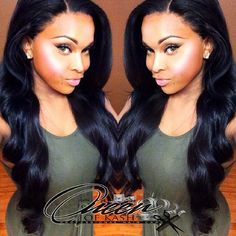 Full sew in with Lace frontal