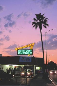 Built in 1952, the In-N-Out on East Foothill Blvd in Pasadena is the oldest existing In-N-Out restaurant. It's a SoCal tradition. I could still go for a Double-double and a Strawberry shake.