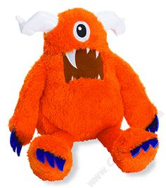 Wild Woobly Monster & Me Stuffed Animal by Manhattan Toy