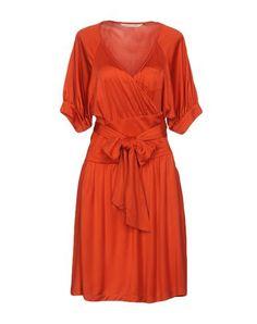 DIANE VON FURSTENBERG Knee-length dress. #dianevonfurstenberg #cloth #dress #top #skirt #pant #coat #jacket #jecket #beachwear #