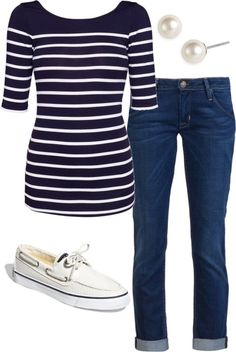 relaxed casual nautical wear #nauticalfasion