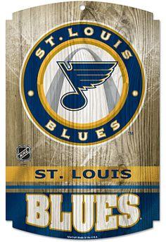 Wincraft St. Louis Blues Wood Sign - Shop.NHL.com