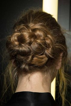 Dolce & Gabbana - F/W 2014 #MilanFW #Beauty #Hair