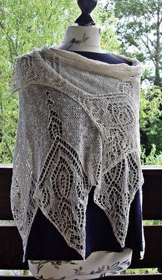 Tücher - Sommerliches Spitzentuch aus Baumwolle und Leinen - ein Designerstück von StitchInTime bei DaWanda