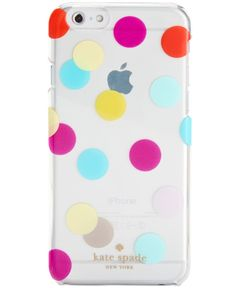 kate spade new york Balloon Dots Transparent iPhone 6/6S Case