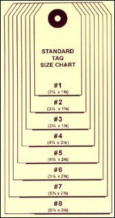 Tag Size Chart is always a handing thing to have!  This site is amazing for Card Makers  http://pinterest.com/toadallyhot/cards/  Thank you Lois Pryor!