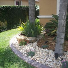 Rock Yard Landscaping | no grass front yard ideas | Bountiful ...